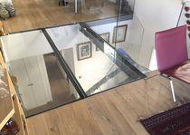 Plancher technique en acier / en verre / d'intérieur / d'extérieur