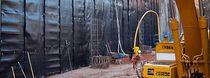 Membrane d'étanchéité pour paroi verticale enterrée / de protection / de drainage / en rouleau