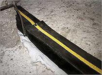 Membrane d'étanchéité en caoutchouc butyle / pour joint de dilatation / en bande / de drainage
