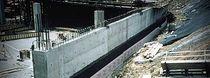 Membrane d'étanchéité de drainage / barrière à la vapeur d'eau / en rouleau / en caoutchouc