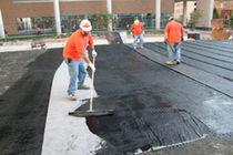 Membrane d'étanchéité en caoutchouc / en asphalte / en polymère / pour construction de pont