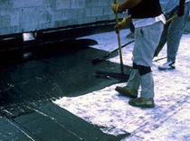 Membrane d'étanchéité en élastomère / en polyuréthane / pour toiture-terrasse / liquide