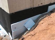 Membrane d'étanchéité en composite / en polypropylène / pour paroi verticale enterrée / en rouleau