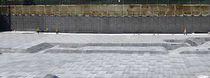Membrane d'étanchéité de fondation / de protection / en rouleau / en composite