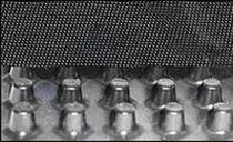 Membrane de drainage non-tissée / en toile / de drainage / pour barrière