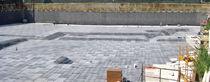 Membrane d'étanchéité en composite / pour mur / de fondation / en rouleau