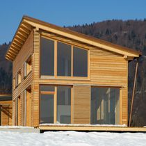 Maison préfabriquée / contemporaine / à bois / écologique