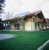 Maison passive / contemporaine / à ossature bois / à bois