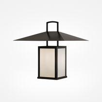 Lampe suspension / classique / en acier / pour extérieur