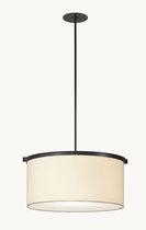 Lampe suspension / classique / en papier / fait main