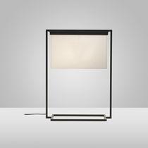 Lampe de table / contemporaine / en acier / fait main