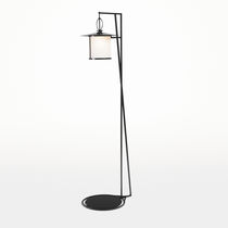 Lampe sur pied / contemporaine / en métal / d'extérieur