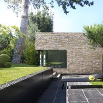 Plaquette de parement en pierre / extérieure