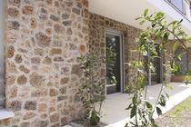 Plaquette de parement en pierre / intérieure / extérieure / aspect pierre