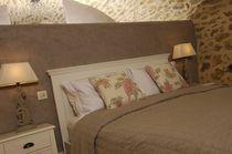 Tête de lit pour lit double / contemporaine / en tissu