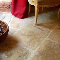 Carrelage au sol / en béton / mat / aspect pierre