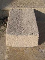 Caniveau pour espace public / en pierre / double pente