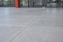 Carrelage d'intérieur / au sol / en béton / mat