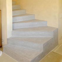 Enduit décoratif / de sol / à base de ciment / à effet béton