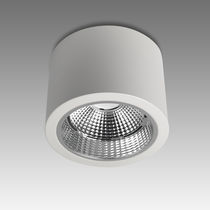 Downlight en saillie / à LED / rond