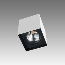 Downlight en saillie / à LED / carré