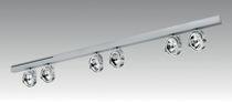 Éclairage sur rail halogène / linéaire / en métal / professionnel
