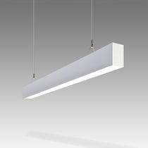 Luminaire suspendu / à LED / fluorescent / linéaire