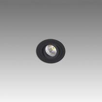 Spot encastrable au plafond / halogène / rond / en métal