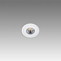 Downlight encastré / à LED / rond