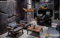 Revêtement mural en cuir / résidentiel / pour bureau / pour espace public