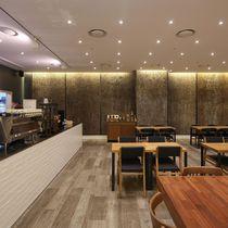 Panneau décoratif en peuplier / pour agencement intérieur / pour aménagement extérieur / texturé
