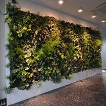 Mur végétal d'intérieur / bioclimatique
