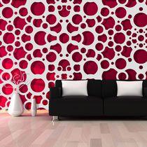 Panneau décoratif MDF / mural / 3D / organique