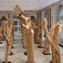Sculpture en bois / pour espace public
