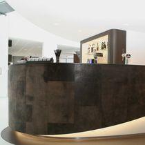 Panneau décoratif en cuir / pour agencement intérieur