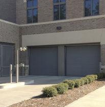 Porte industrielle sectionnelle / en acier galvanisé / haute performance / isolante