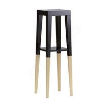 Table mange-debout contemporaine / en bois / rectangulaire / carrée
