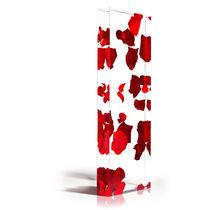 Panneau décoratif en résine / acrylique / pour agencement intérieur / pour cloison