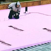 Isolant thermique / en polystyrène extrudé / pour toiture / en panneaux