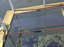 Panneau en verre à motif / pour plancher / pour façade / transparent