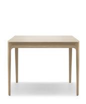 Table contemporaine / en chêne / rectangulaire / carrée