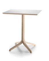 Table bistrot contemporaine / en chêne / en pin / en mélaminé