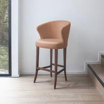 Chaise de bar classique / en tissu / professionnelle