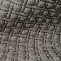 Tissu d'ameublement / à motif géométrique / en polyester / en laine
