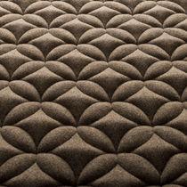Tissu d'ameublement / à motif / en polyester / en laine