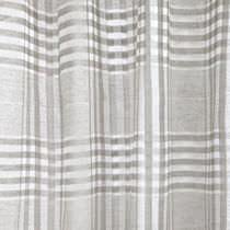 Tissu pour rideaux / à carreaux / en lin