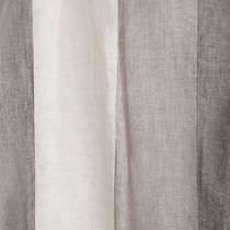 Tissu pour rideaux / à rayures / en lin / en fibre végétale
