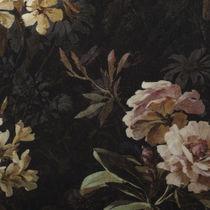 Tissu d'ameublement / à motif nature / en velours
