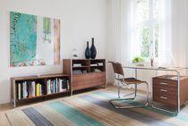 Bureau en bois / en acier / design Bauhaus / professionnel