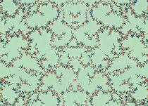 Papiers peints contemporains / à motifs floraux / aspect tissu / imprimés